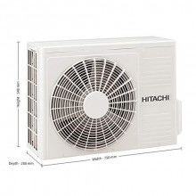 Hitachi 1.5 Ton 5 Star Inverter Split AC (RSOG518HDEA, Copper, Gold)