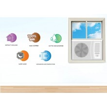 Voltas 1.5 Ton 5 Star Window AC (Copper 185 DZA-R32 White)