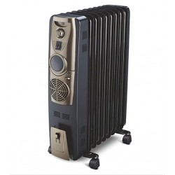 Bajaj Majesty RH 11F Plus With Fan {Black/Golden}