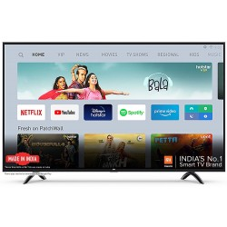 Mi 4X 108 cm (43) Ultra HD (4K) LED Smart Android TV