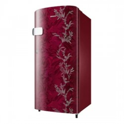 Samsung {RR19T2Y1B6R/NL, Mystic overlay red} 192L 2Star Single Door Refrigerator