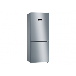 Bosch 415 L 3Star (2019) Frost Free Double Door Refrigerator {KGN46XL40I, Black, VarioInverter, VitaFresh, Bottom Freezer}