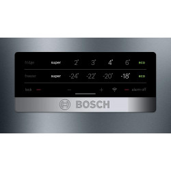 Bosch 415 L 3Star Frost Free Double Door Refrigerator {KGN46XL40I, Black, VarioInverter, VitaFresh, Bottom Freezer}