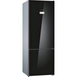 Bosch 559 L 2 Star Frost Free Double Door Bottom Mount Inverter Refrigerator (KGN56LB41I, Black)