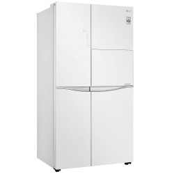 LG 675 L Inverter Wi-Fi Frost-Free Side-by-Side Refrigerator (GC-C247UGLW, White)