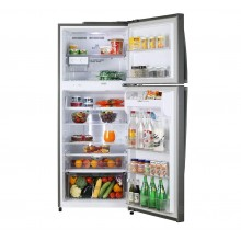 LG 420 L 2 Star Smart Inverter Frost-Free Doube-Door Refrigerator (GL-I472QDSY, Dazzle Steel, With Auto Smart Connect)