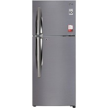 LG 260 L 2 Star Inverter Frost-Free Double Door Refrigerator (GL-S292RPZY, Shiny Steel)