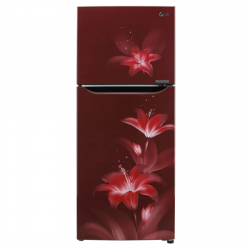 LG 260  L 2Star Frost Free Double Door Refrigerator {GL-T292SRGY, Ruby Glow,Smart Inverter Compressor}