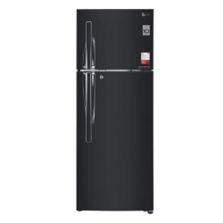 LG 284  L 4Star Frost Free Double Door Refrigerator {GL-T302RES4, Ebony Sheen,Inverter Compressor}
