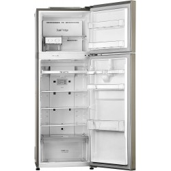 LG 284 L 3 Star Inverter Frost-Free Double Door Refrigerator (GL-T302RPZN, Shiny Steel)