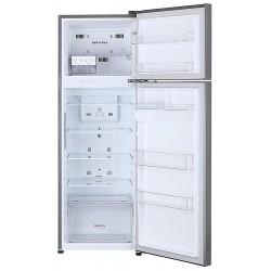 LG 308 L 2 Star Inverter Linear Frost-Free Double-Door Refrigerator (GL-T322RPZU, Shiny Steel, Convertible)