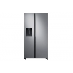 Samsung 676 L Frost Free Side by Side Refrigerator (RS74R5101SL,Real Stainless)