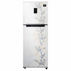Samsung 314L 2Star Inverter Frost-Free Double Door Refrigerator {RT34T46326W/HL, Mystic Overlay White, Convertible}