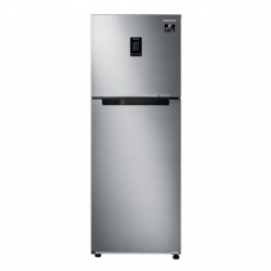 Samsung  314Ltr 2Star Frost Free Double Door Refrigerator{RT34T4632SL/HL, Real Stainless, 2020 model }