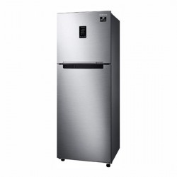 Samsung 336L 2Star Inverter Frost-Free Double Door Refrigerator {RT37T4632SL/HL, Real Stainless, Convertible}