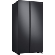 Samsung 700 L Inverter Frost-Free Side-by-Side Refrigerator (RS72R5011B4/TL, Black Matt)