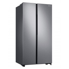 Samsung 692 L Inverter Frost-Free Side-by-Side Refrigerator (RS72A50K1SL/TL,  Real Stainless)