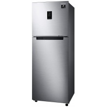 Samsung 314 L 2 Star Inverter Frost-Free Double Door Refrigerator {RT34T4632SL/HL, Real Stainless, Convertible}