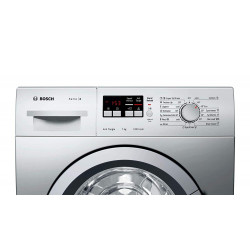 Bosch 7 Kg Inverter Fully-Automatic Front Loading Washing Machine (WAJ24262IN, Silver)