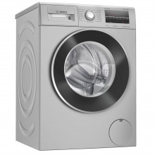 Bosch 7.5 Kg Inverter Fully-Automatic Front Loading Washing Machine (WAJ2446DIN, Silver)