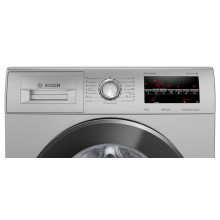 Bosch 8 Kg 5 Star Fully Automatic Front Load Washing Machine (WAJ2846SIN , Platinum Silver)