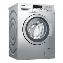Bosch 6.5 kg Fully-Automatic Front Loading Washing Machine {WAK20267IN, Silver}
