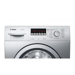 Bosch 7 Kg Fully Automatic Front Loading Washing Machine {WAK2426SIN, Silver}