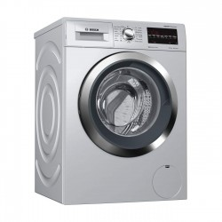 Bosch 8 Kg Fully Automatic Front Loading Washing Machine {WAT2846SIN, Silver}