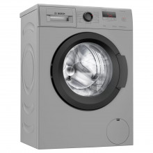 Bosch 6.5 kg Fully-Automatic Front Load Washing Machine (WLJ2006DIN, Black, Silver)
