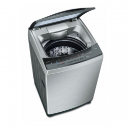 Bosch 10 Kg Fully-Automatic Top Loading Washing Machine {WOA106X1IN, Inox, 2021 model}