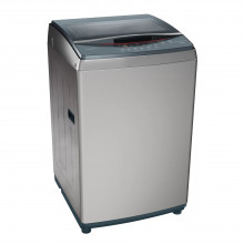 Bosch 8.5 Kg Fully-Automatic Top Loading Washing Machine {WOE854D1IN, Dark Silver} (New Model 2021)