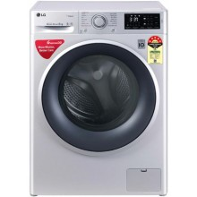 LG 6.0 Kg 5 Star Inverter Fully-Automatic Front Loading Washing Machine (FHT1006ZNL, Silver)