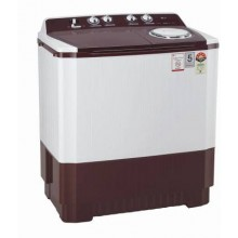 LG 10 kg 5 Star Semi-Automatic Top Loading Washing Machine (P1040SRAZ, Wind Jet Dry, Color: Burgundy)