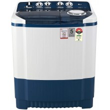 LG 7.5 Kg 5 Star Semi-Automatic Top Loading Washing Machine {P7535SBMZ, Dark Blue}