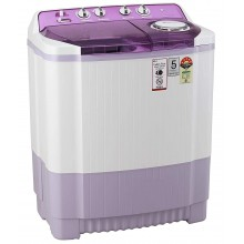 LG 7.5 Kg 5 Star Semi-Automatic Top Loading Washing Machine (P7535SMMZ, Wind Jet Dry, Color- Mauve)