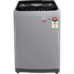 LG 10 Kg Inverter Fully-Automatic Top Loading Washing Machine (T10SJSF1Z, Free Silver)