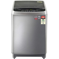 LG 10 Kg Inverter Fully-Automatic Top Loading Washing Machine (T10SJSS1Z, Free Silver)