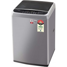 LG 6.5 Kg 5 Star Smart Inverter Fully-Automatic Top Loading Washing Machine (T65SNSF1Z, TurboDrum, Middle Free Silver)