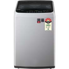 LG 6.5 Kg 5 Star Smart Inverter Fully-Automatic Top Loading Washing Machine (T65SPSF2Z, TurboDrum, Middle Free Silver)