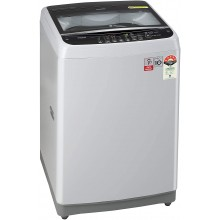 LG 6.5 kg 5 Star Inverter Fully-Automatic Top Loading Washing Machine (T65SJSF3Z, Middle Free Silver)