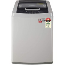 LG 6.5 Kg 5 Star Smart Inverter Fully-Automatic Top Loading Washing Machine (T65SKSF1Z, Middle Free Silver, 2020)