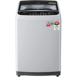 LG 7 Kg Inverter Fully-Automatic Top Loading Washing Machine (T70SNSF3Z, Middle Free Silver)
