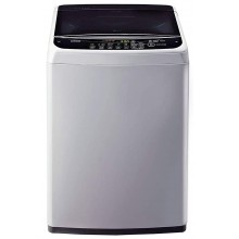 LG 6.2 kg Inverter Fully-Automatic Top Loading Washing Machine ( T7288NDDLG, Middle Free Silver)