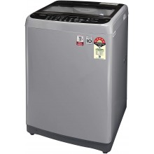 LG 9.0 Kg 5 Star Smart Inverter Fully-Automatic Top Loading Washing Machine (T90SJSF1Z, Jet Spray, Middle Free Silver)