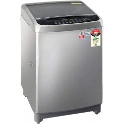 LG 9.0 Kg 5 Star Smart Inverter Fully-Automatic Top Loading Washing Machine (T90SJSS1Z, Stainless Steel)