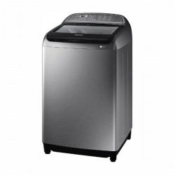 Samsung 11Kg Top Loading Washing machine with Active Wash+ { WA11J5750SP, Platinum Inox}
