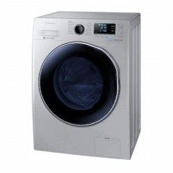 Samsung 8Kg Front Loading Fully Automatic Washing Machine {WD80J6410AS/TL, grey}