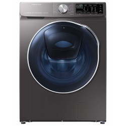 Samsung 10.0/7.0 kg Inverter Fully-Automatic Washer Dryer (WD10N641R2X, Silver)