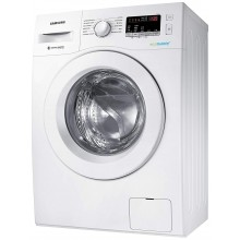 Samsung 6.0 Kg Inverter 5 star Fully-Automatic Front Loading Washing Machine (WW61R20EKMW/TL, Hygiene steam, White)